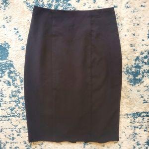 Zip Up Formal Business Skirt